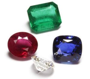 Les 4 pierres précieuses